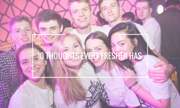 10 thoughts every fresher has!