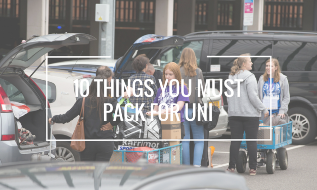 10 Things You MUST Bring to Uni