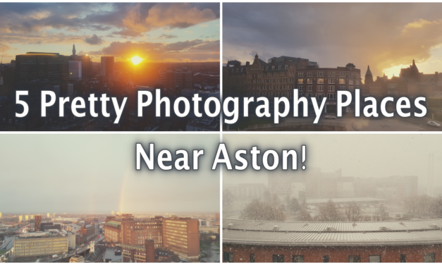 5 of the Best Spots to take Landscape Photos while at Aston