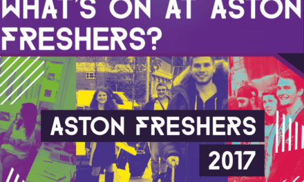What's going on at Aston Freshers?