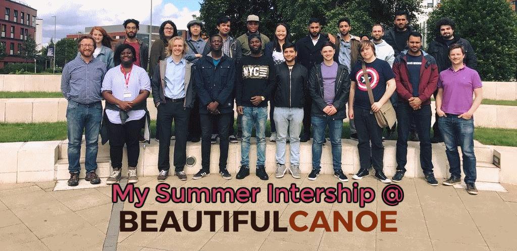 Spending Summer doing an Internship at Aston