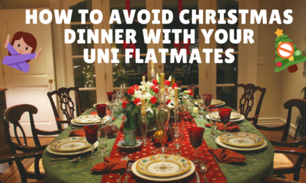 How to avoid Christmas Dins with your Flatmates 🚫🎄