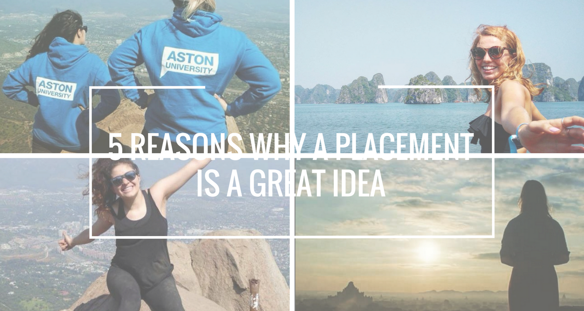 5 Reasons Why Placement Year Is A Good Idea