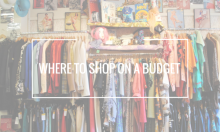 Where to shop on a budget