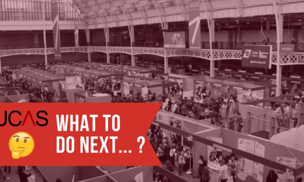 UCAS Fairs – what to do next?