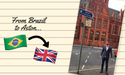 My journey to Aston | Guest blog from Alexandre Albergaria